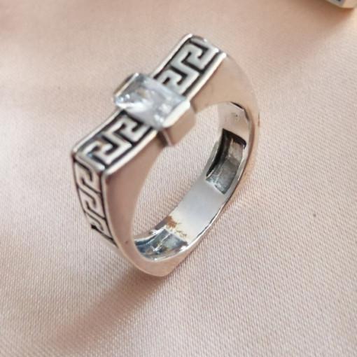Inel argint R2086 zircon