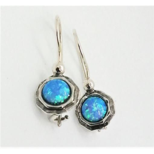 Cercei argint opal -E6586