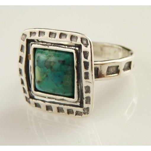 Inel argint cu turcoaz R792