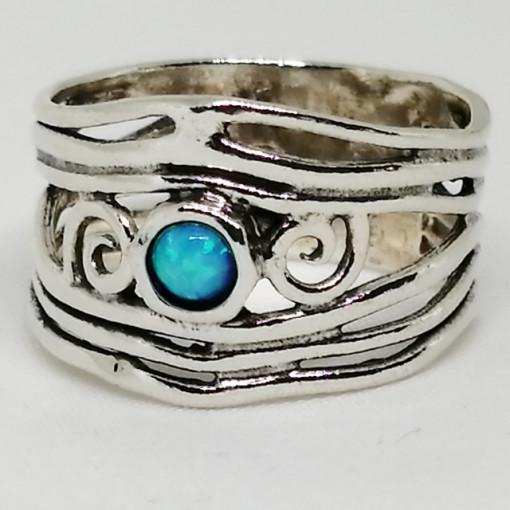Inel argint opal imperial R2442