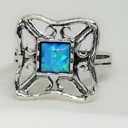 Inel argint opal imperial R3596