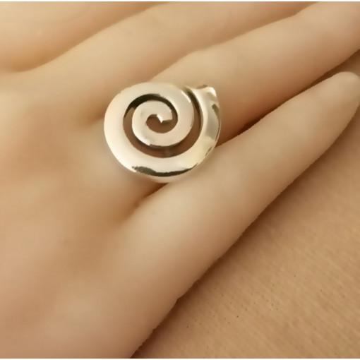 Inel argint spirala -R3154
