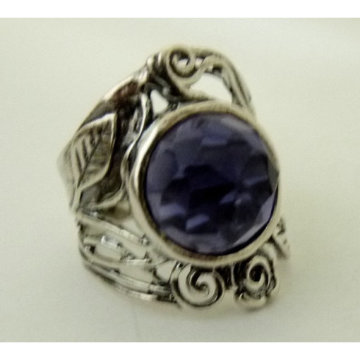 Inel din argint ametist R1293