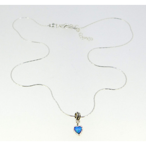 Colier argint opal -N3890-1