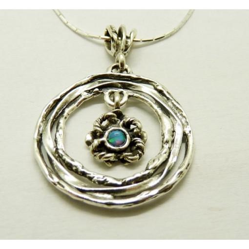 Colier argint opal N9070-5