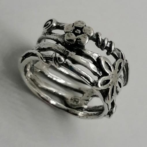 Inel argint R313