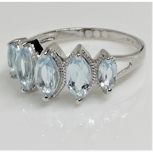Inel argint - VR012952 Topaz
