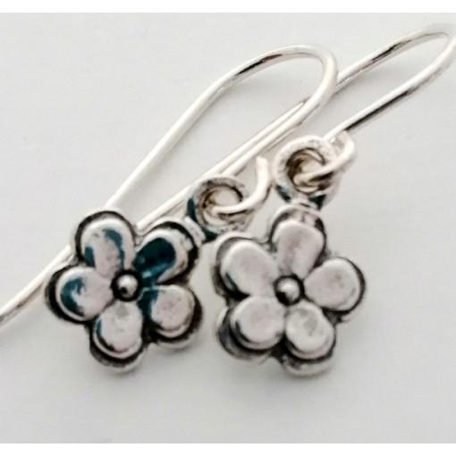 Cercei delicati din argint floare - E693