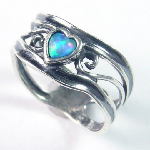 Inel argint opal imperial R3768