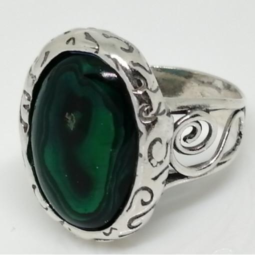 Inel argint R6613-1 - abalon