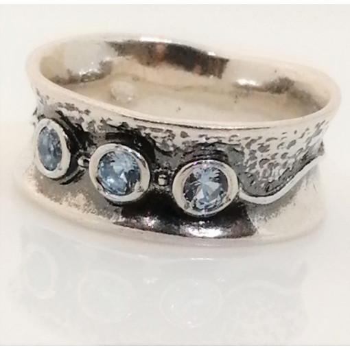Inel argint topaz R1544