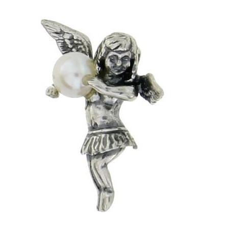 Pandantiv argint Înger -perla P179