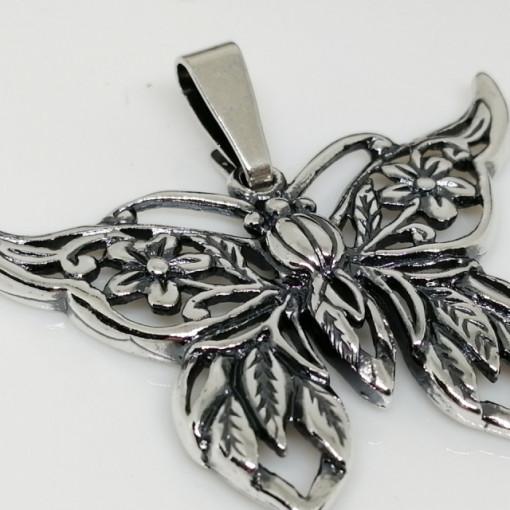 Pandantiv fluture din argint P1357