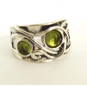 Inel argint R939 -peridot
