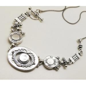 Colier masiv din argint -N3844