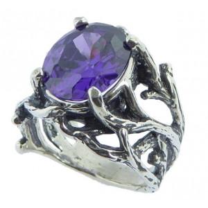 Inel argint ametist R2023