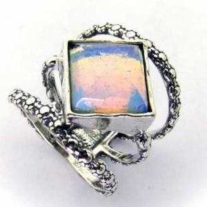 Inel argint piatra lunii -R3290
