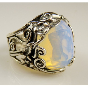 Inel din argint - opalit-R6980