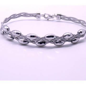 Bratara argint -BROM0137RHPA-12