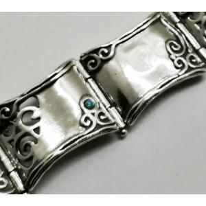 Bratara argint opal B1467
