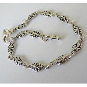 Bratara delicata din argint-frunzulite - E797