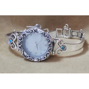 Ceas argint opal W4132-1