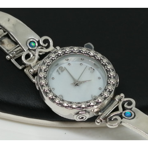 Ceas argint opal W4133-1