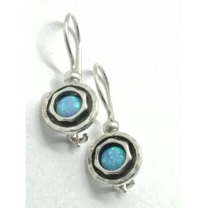 Cercei argint OPAL- E2496