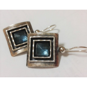 Cercei argint TOPAZ -E1847