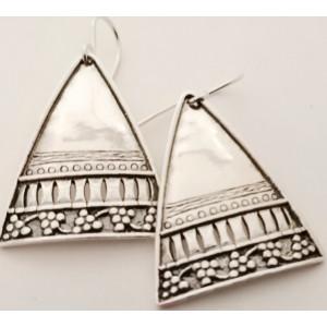 Cercei din argint - E451