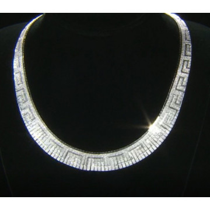 Colier amplu -stil grecesc -CTOM0158AGGRE