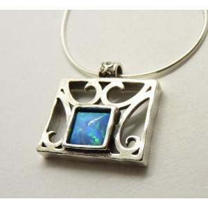 Colier argint N3171 opal