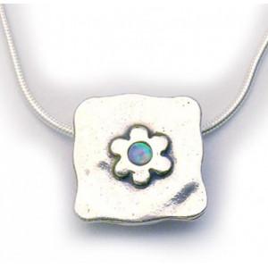 Colier argint opal N1547