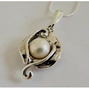 Colier argint perla E1665-1481