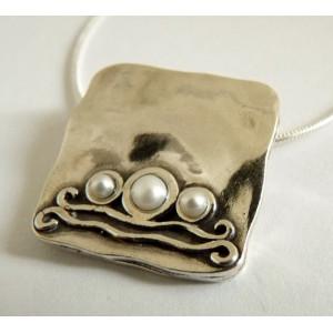 Colier argint perla- N1555
