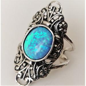 Inel argint opal R8530