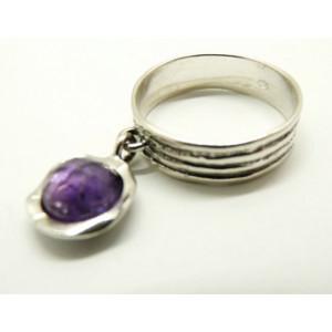Inel argint R4659- ametist