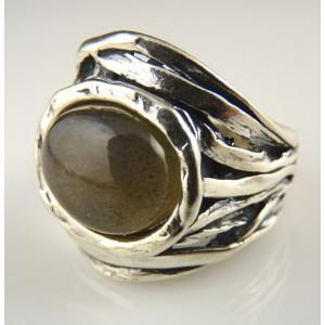 Inel argint R8122 -labradorit