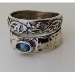 Inel argint topaz R2161