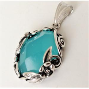 Pandantiv argint N1770 blue ocean