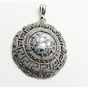 Pandantiv argint -zircon P3608