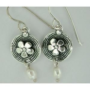 Cercei argint perla E1225
