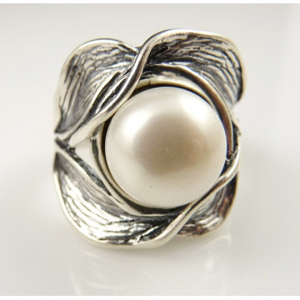 Inel argint R1074 PERLA