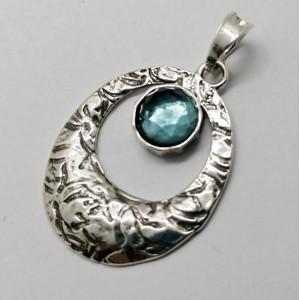 Pandantiv argint topaz- N2682
