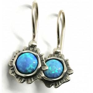 Cercei argint opal E2874A