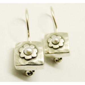 Cercei argint perla E1285