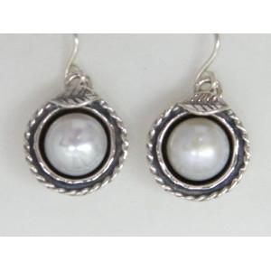 Cercei argint perla E1632
