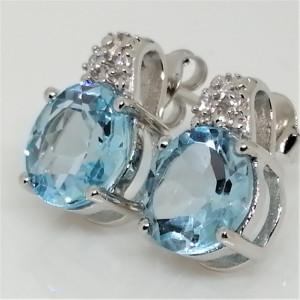 Cercei argint -VE018336 topaz