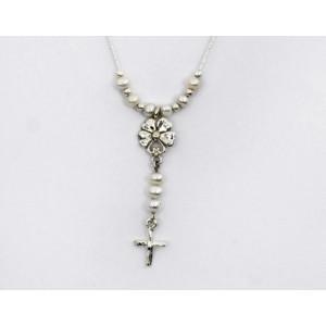 Colier argint perla N4641