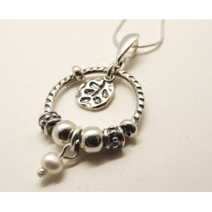 Colier din argint perla E2367-1481